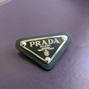 Authentic Prada brooch accessory